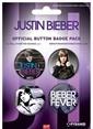 Pyramid International Rozet Seti - Justin Bieber Renkli